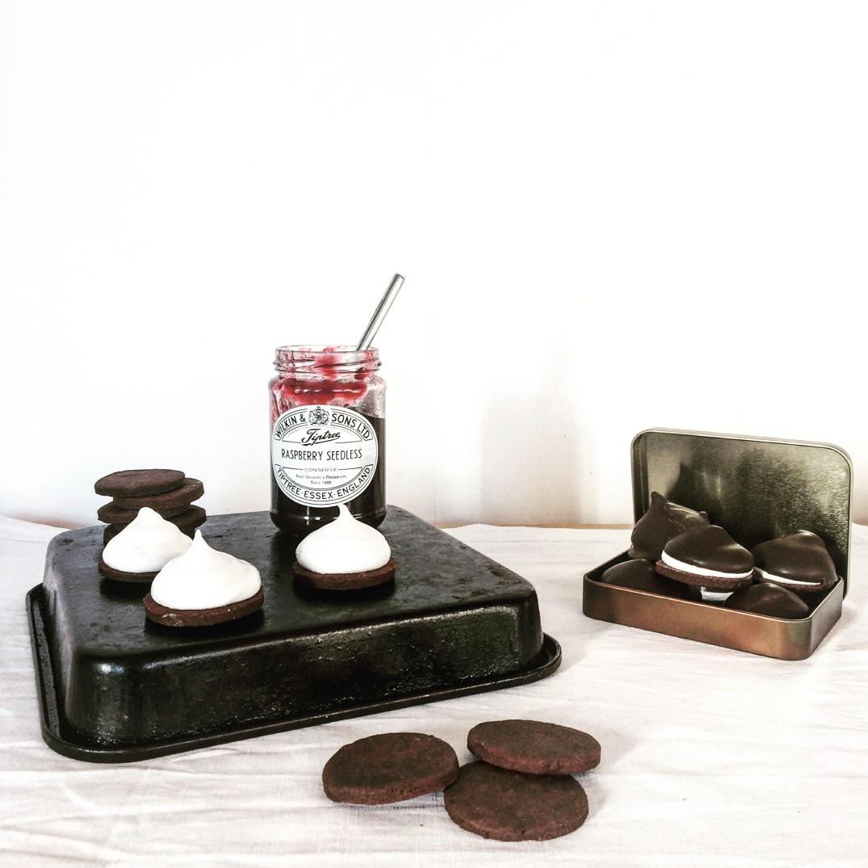 Chocolate Marshmallow Teacakes - Sky Meadow Bakery blog