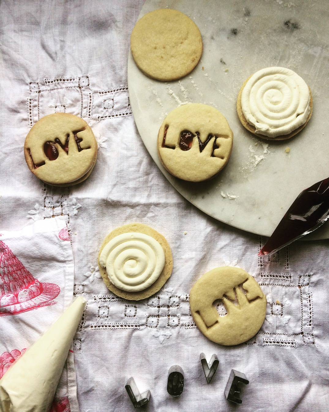 Jammy Dodgers - Sky Meadow Bakery blog