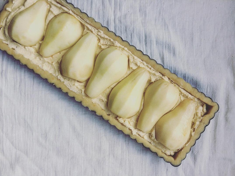 Pear & Frangipane tart - Sky Meadow Bakery blog