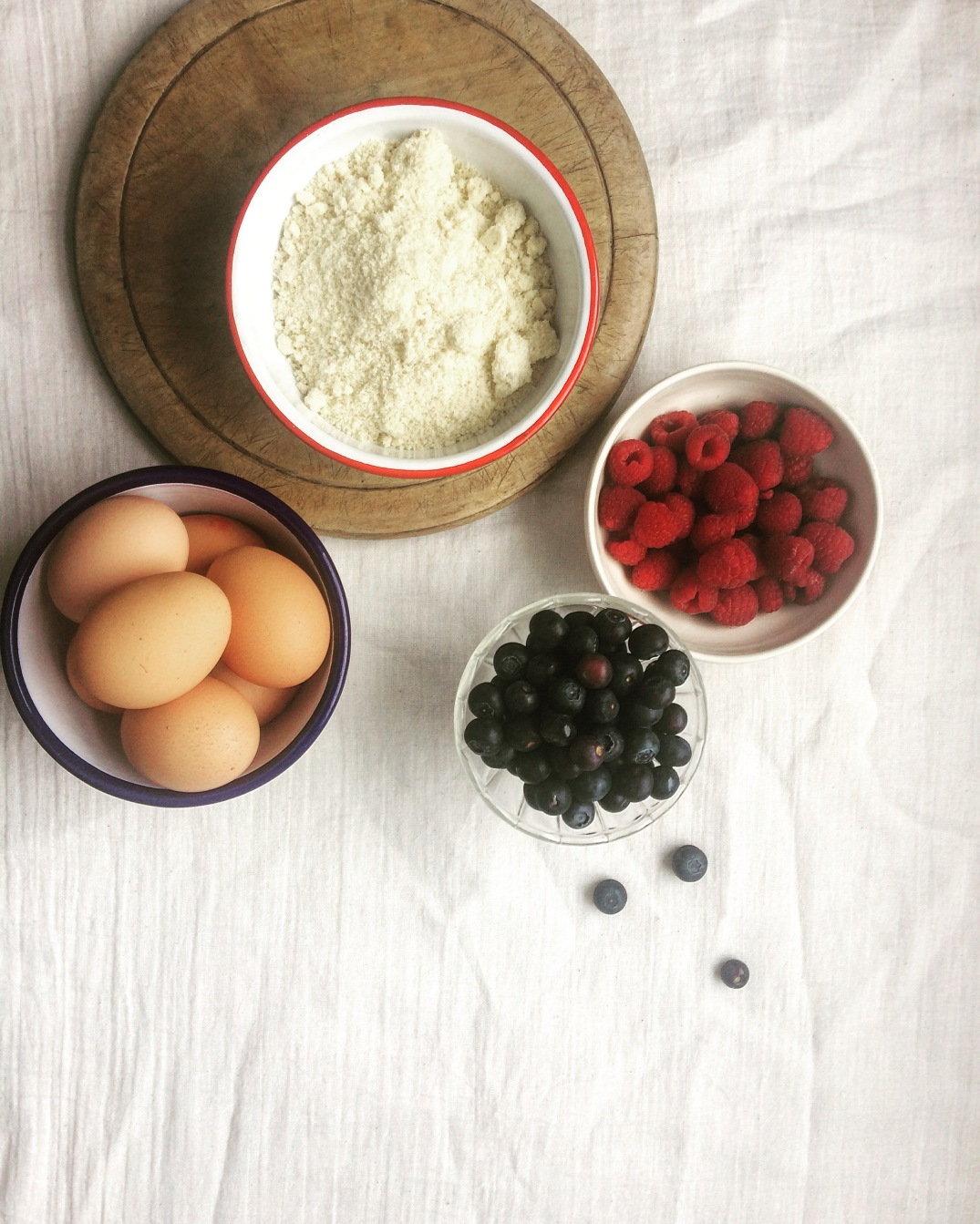 Friand Ingredients - Sky Meadow Bakery blog