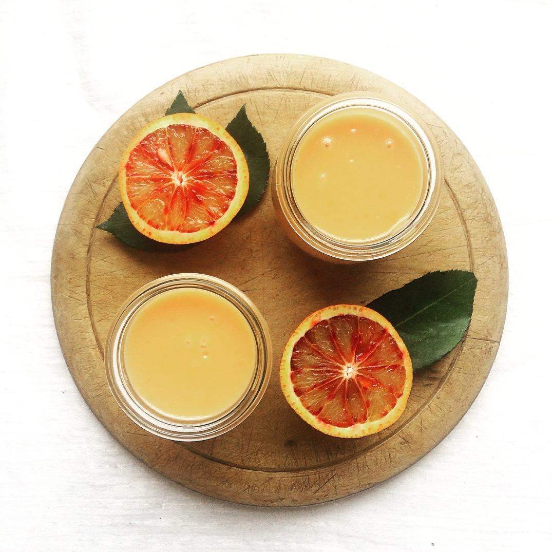 Blood Orange Curd - Sky Meadow Bakery blog