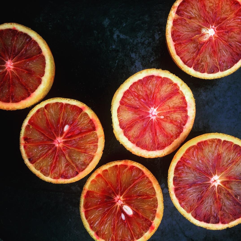 Blood oranges - Sky Meadow Bakery blog