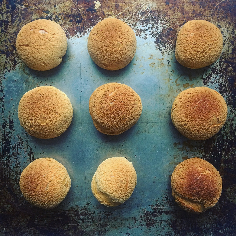 Afternoon Tea Cream Puffs - Sky Meadow Bakery blog