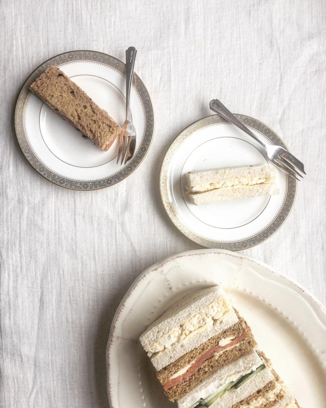Afternoon Tea Sandwiches - Sky Meadow Bakery blog
