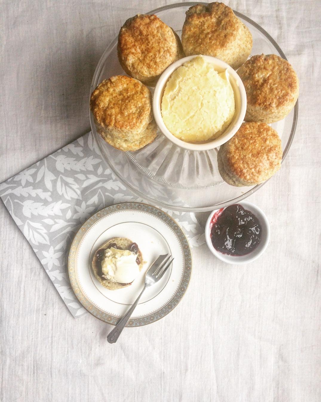 Afternoon Tea Scones - Sky Meadow Bakery blog