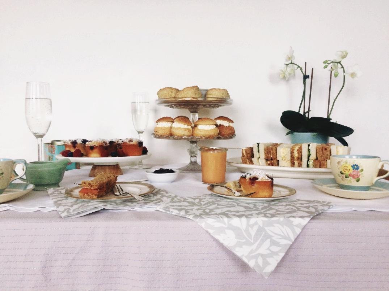 Afternoon Tea - Sky Meadow Bakery blog