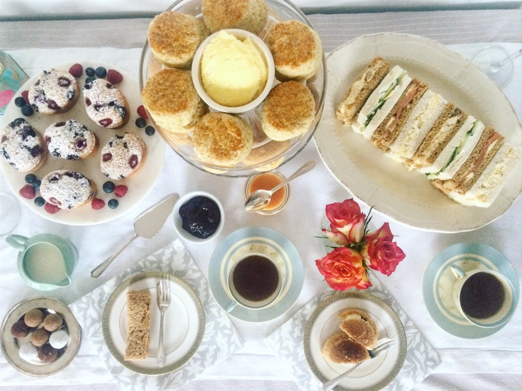 Mother's Day Afternoon Tea - Sky Meadow Bakery blog