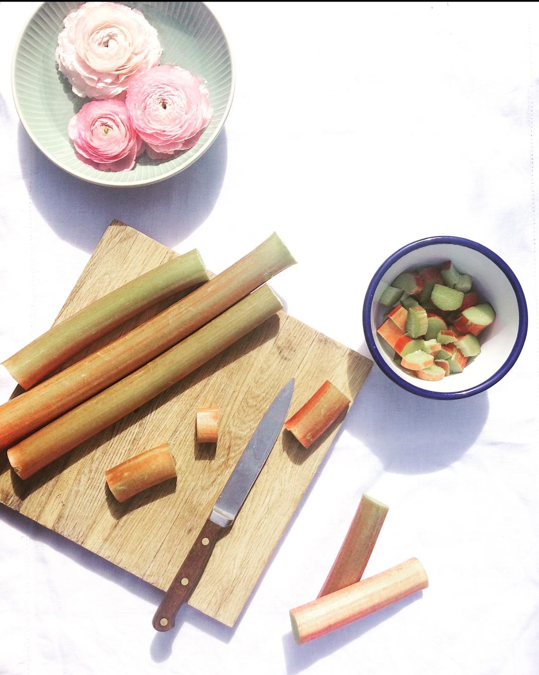 Rhubarb - Sky Meadow Bakery Blog